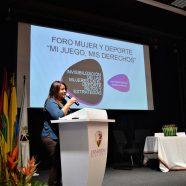Foro Mujer y Deporte 2017 en Barranquilla
