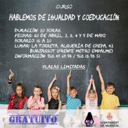 Curso 'Hablemos de Igualdad y Coeducación'