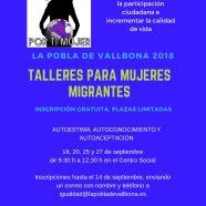Talleres para mujeres migrantes