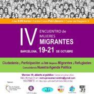 IV Encuentro Mujeres Migrantes: Ciudadanía y Participación de las Mujeres Migrantes y Refugiadas