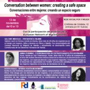 Conversaciones entre mujeres: creando un espacio seguro