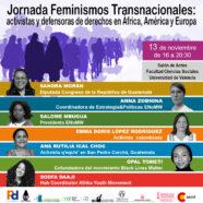 Paz y Desarrollo, Por Ti Mujer y Alianza por la Solidaridad organizan en Valencia la Jornada 'Feminismos Transnacionales'