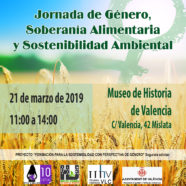 Jornada 'Género, soberanía alimentaria y sostenibilidad ambiental'