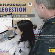 Escuela de ahorro familiar: telegestión
