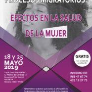 El próximo Taller del Centro de Día para Mujeres Inmigrantes abordará los procesos migratorios y los efectos en la salud de la mujer