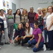 Emocionante final del taller 'Procesos migratorios: efectos en la salud de la mujer'