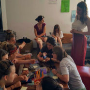 Segunda jornada de talleres con las Radical Girlsss de la European Network of Migrant Women
