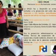 Vídeo Fórum 'Hacia una ayuda humanitaria sostenible'