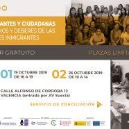 Taller 'Inmigrantes y Ciudadanas, Derechos y Deberes de las Mujeres Inmigrantes'