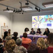 Exitosa jornada contra la mercantilización del cuerpo de las mujeres migrantes