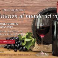 Taller 'Iniciación al mundo del vino'