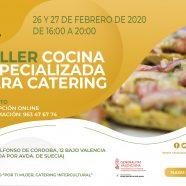 Taller 'Cocina especializada para catering'