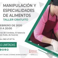 Taller 'Manipulación y especialidades de alimentos'