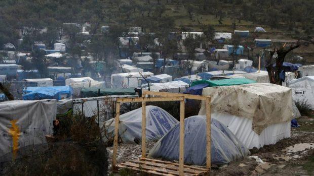 Campamento de Moria. Foto@lavanguardia
