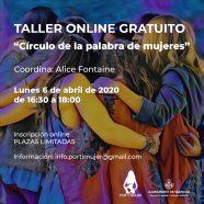Taller online Círculo de la palabra de mujeres