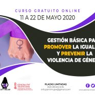 Curso 'Gestión básica para promover la igualdad y prevenir la violencia de género'