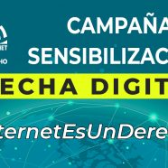 Iniciamos campaña sobre la brecha digital #InternetEsUnDerecho
