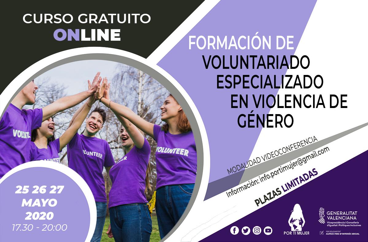 Curso 'Formación de voluntariado especializado en violencia de género'