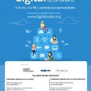 Nuevos talleres de habilidades digitales para el empleo y el emprendimiento