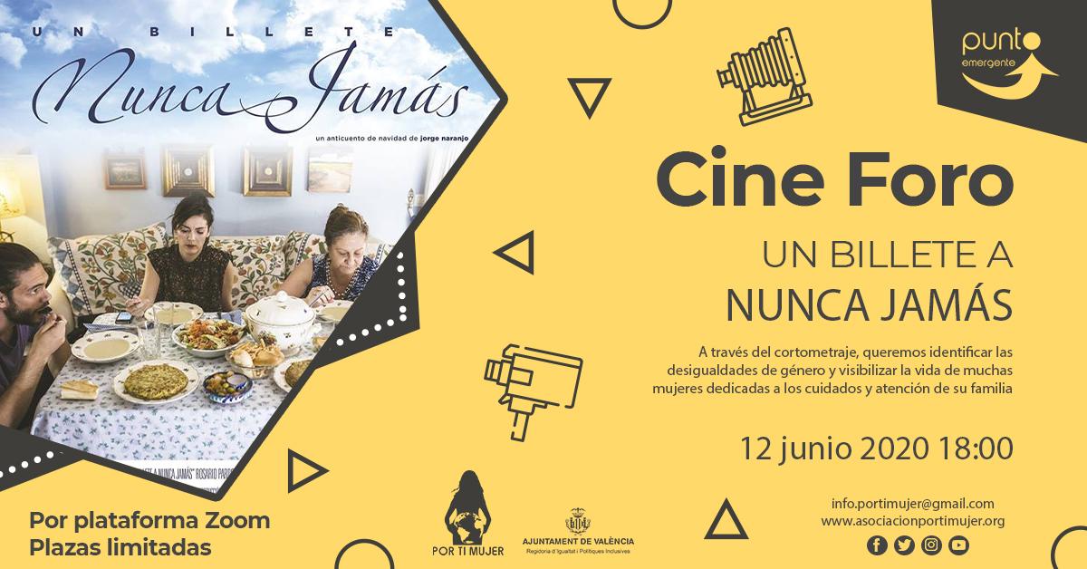 Cine Foro 'Un Billete a Nunca Jamás'