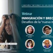 Webinar 'Inmigración y brecha digital: desafíos de la 'nueva normalidad''