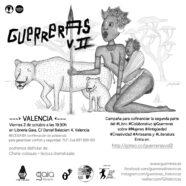 Presentación del volumen II de Guerreras, proyecto editorial colaborativo