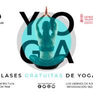 Retomamos las clases de yoga a partir del 16 de octubre