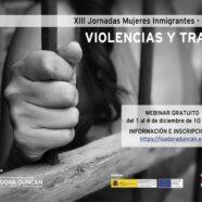 Abierta la inscripción a las XIII Jornadas Mujeres Inmigrantes. Violencias y trata