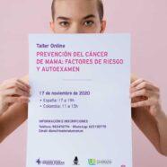 Taller 'Prevención del cáncer de mama: factores de riesgo y autoexamen'