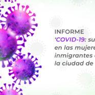Presentación del informe 'COVID-19: su impacto en las mujeres inmigrantes de la ciudad de Valencia'