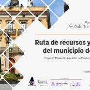 Conoce la ruta de recursos y servicios del municipio de Manises