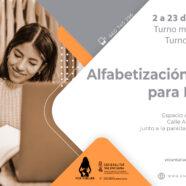 ¡Comenzamos los talleres de alfabetización digital para mujeres!