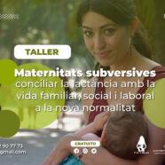 Taller 'Maternitats subversives: conciliar la lactància amb la vida familiar, social i laboral a la nova normalitat'