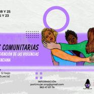 Curso 'Promotoras comunitarias por la igualdad y prevención de las violencias en la Comunidad Valenciana'