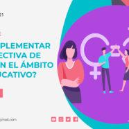 Curso ¿Cómo implementar la perspectiva de género en el ámbito socioeducativo?