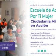 Escuela de Acogida Por Ti Mujer: ciudadanía migrante en acción